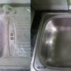 Curăţare chiuvetă după zugrav