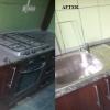 Curăţare mobilă de bucătărie după zugrav