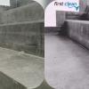 Lépcső járólap felújítás utáni takarítás